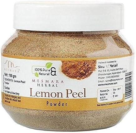 Mesmara Herbal Lemon Peel Powder - 100g