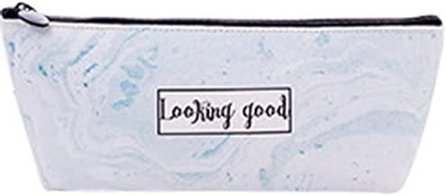VGFUI Packs Canvas Pencil Pen Zipper Pouch Small Cosmetic Makeup Bags, (Color : C)