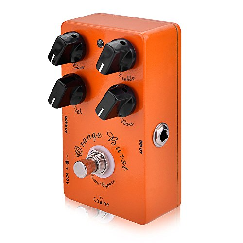 USA Digital Overdrive Guitar Effect Pedal with 4 Control Knobs (CP-18)