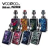 VOOPOO Drag mini Platinum KIT ブープー ドラッグ ミニ プラチナム 最大出力177W 内蔵バッテリー4400mAh 電子たばこ スターターキット VAPE