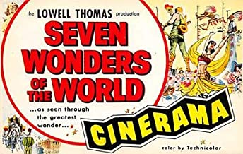 Seven Wonders of the World, Cinerama Movie Poster Postcard