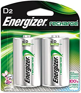 ENERGIZER Rechargeable D Battery