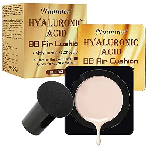 BB Cream, CC Creme, Líquida Fundación, Mushroom Head Air Cushion BB Cream, El corrector Ligero y Transpirable Ilumina el Tono de la Piel y Los Poros Invisibles