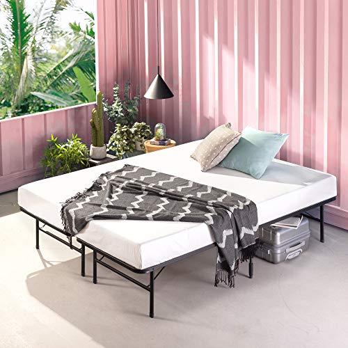 Zinus Shawn 14 Inch SmartBase Mattress Foundation / Platform Bed Frame / Box Spring Replacement / Quiet Noise-Free / Maximum Under-bed Storage, King
