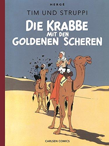 Tim & Struppi Farbfaksimile, Band 8: Die Krabbe mit den goldenen Scheren