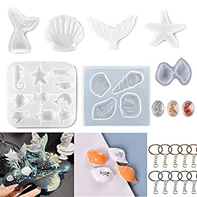 Silicone Mold for Resin Casting Keychain - CAST...