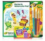 Crayola Kids Paint Set, Craft Supplies, Amazon Exclusive, Ages 3, 4, 5, 6, 7