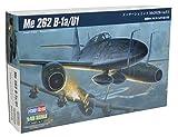 Hobby Boss 80379 - Modellino di bimotore Messerschmitt Me 262 B-1a/U1, da Costruire, Scala 1:48