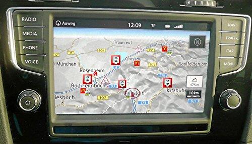 Blitzer POI Radarwarner für VW Discover Pro, Pro 2, Discover Media, Media 2 als CD inklusive MwSt