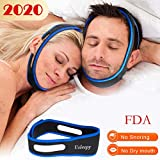 Anti Snoring Chin Strap, Comfortable Natural Snoring Solution Snore Stopper,Most Effective Anti Snoring...