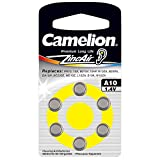 Camelion Zinc Air A10 ZL10 1.4V Button Cell (Pack of 6)