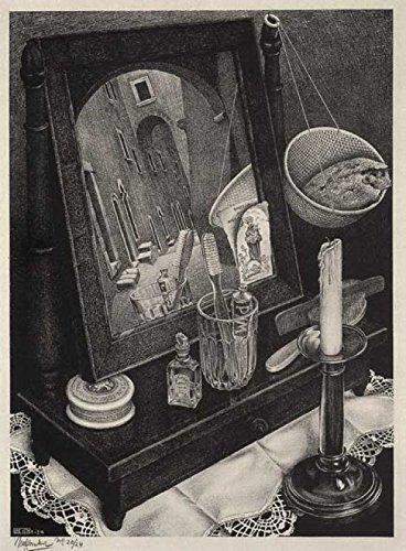 Escher Poster 32 cm 50x70 Poster Affiche Plakat Fine Art Il Negozio di Alex