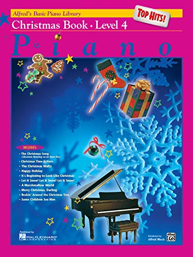 Price comparison product image Alfred's Basic Piano Library Top Hits! Christmas,  Bk 4