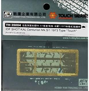 AFV Club 1/35 Photo Etch Detail for IDF Shot KAL Centurion Mk.5/1 1973 TH35004