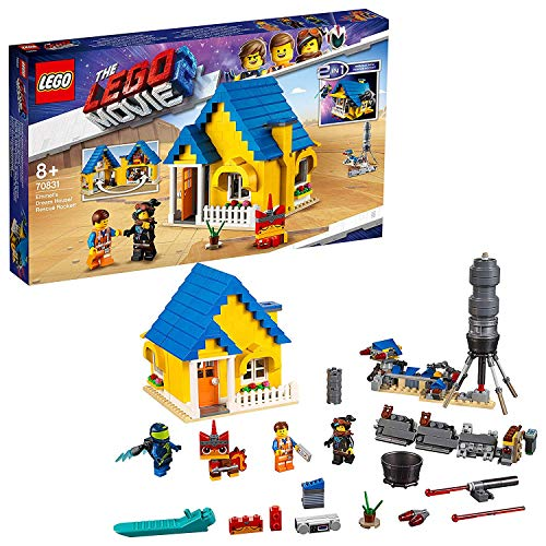 Lego 70831 Lego Movie Emmets Traumhaus/Rettungsrakete!