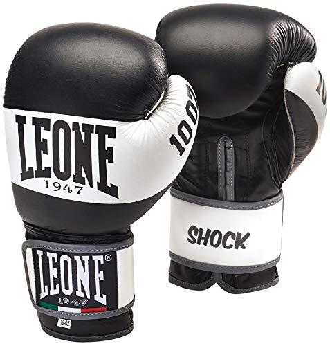 Leone 1947 Shock Boxhandschuhe, Schwarz, 16 Uz