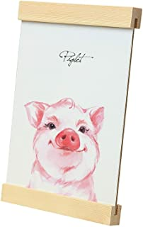 Bluesun Pig Modern Home Photo Frame Decorative Painting (with Painting core) 6x9 inches