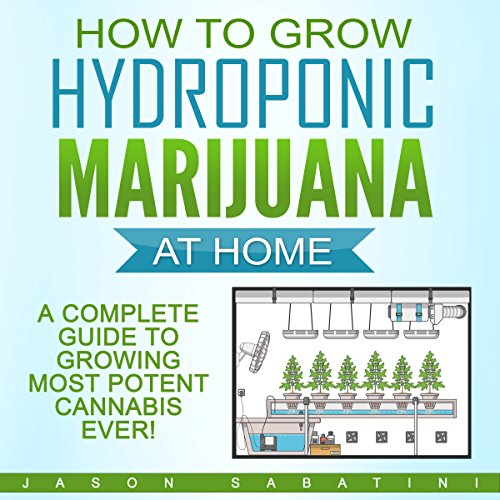 How to Grow Hydroponic Marijuana at Home audiobook cover art