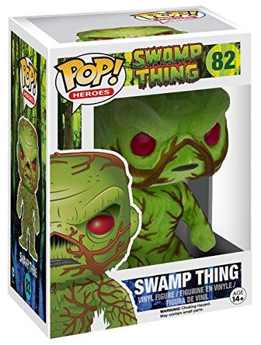 Swamp Thing - Funko Pop! Swamp Thing Flocked 82 Figura de coleccionista Estándar