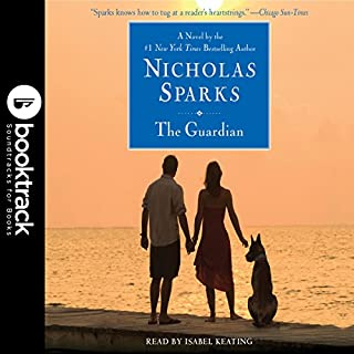 The Guardian     Booktrack Edition              Written by:                                                                                                                                 Nicholas Sparks                               Narrated by:                                                                                                                                 Isabel Keating                      Length: 12 hrs and 11 mins     18 ratings     Overall 4.6