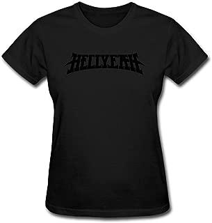Women's Hellyeah Band Logo Heavy Metal Short Sleeve T-Shirt XXL ColorName