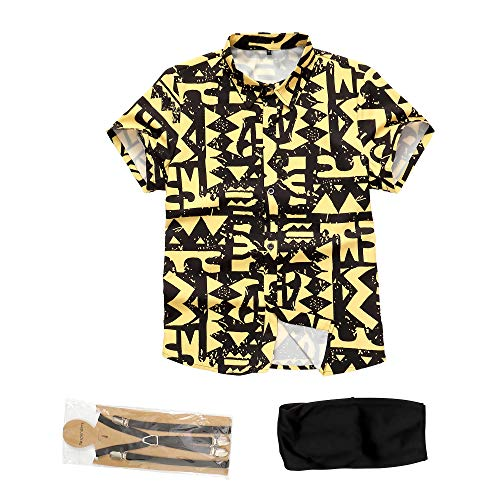 Stranger Eleven Shirt Battle Costume (S) Yellow