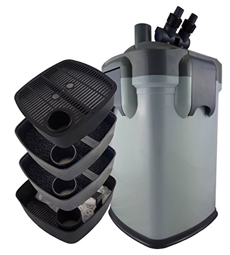 Biopro 2200UV External Canister Filter 580 GPH with 9w UV Sterilizer
