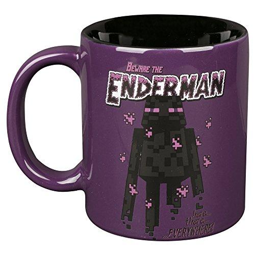 Minecraft Enderman Cup Purple-Black