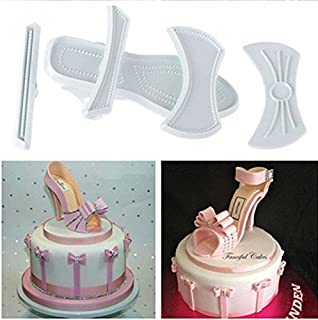 Best 3d 5 high heel shoe silicone mold kit Reviews