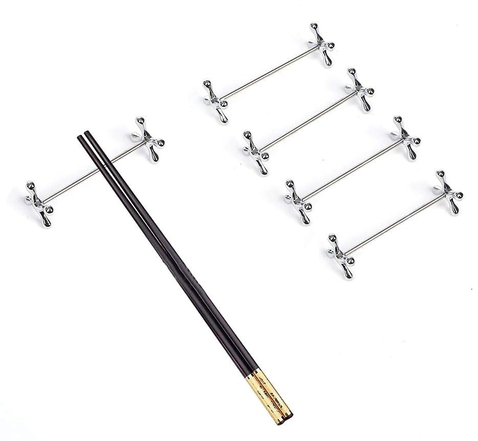 スケッチピクニックすずめナイフレスト セット 8×2.5cm銀メッキ 5個 カトラリ―レスト フォークレスト 箸置き おしゃれ
