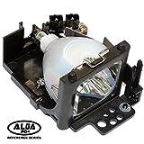 Alda PQ Reference, Bombilla sustituida DT00521 para HITACHI CP-HS1090, CP-X327, CP-X327W, ED-X3250, ED-X3250AT, ED-X3270 proyectores, lámpara con carcasa