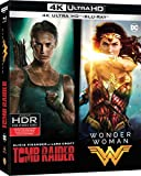 Coffret Tomb Raider (2018) + Wonder Woman - Collection de 2 films - Coffret Blu-Ray 4K [4K Ultra HD + Blu-ray]