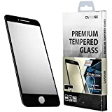 CAPDASE iPhone 8 iPhone 7 4.7インチ対応 液晶保護 強化 ガラスフィルム 3D Hybrid Guard Colored Tempered Glass Screen Protector Clear Black SPIH7-3HG-01