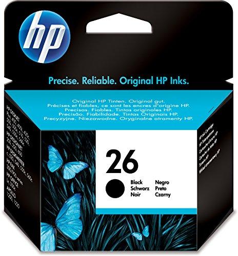 HP 26 Schwarz groß Original Tintenpatrone