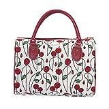 Signare Gobelin-Reisetasche für Damen, mit Charles Rennie Mackintosh Simple Rose und Nouveau (TRAV-RMSP)