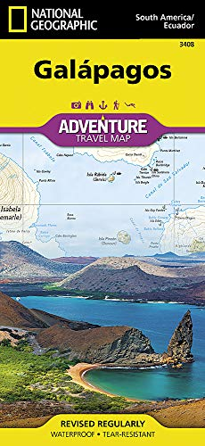 Galapagos (National Geographic Adventure Map, Band 3408)