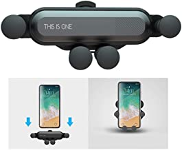 CHAMPLED Car Air Vent Clip Deformable Extendable Foldable Holder Cradle Stand Mobile Smart Phone Gravity Sensing Clamping Mount for Chevrolet Corvette С7 Stingray Ray C1 C2 C3 C4 ZR1 Hero Edition LT1