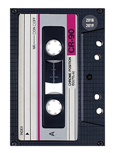 """Diario agenda scuola collegetimer """"Musicassetta"""" 2018/2019 - Giornaliera - 352 pagine - 10x15 cm"""