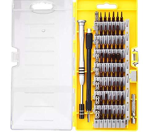 RENCALO 60 en 1 S2 Tool Juego de Herramientas de reparación de Juego de Destornilladores Torx de precisión