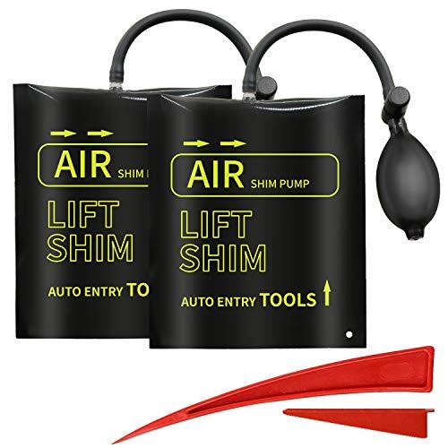 Bomba De Aire Cuña,AUCMA 2pcs Cuña de aire con una cuña r