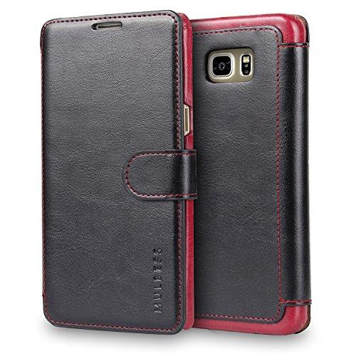 Mulbess Cover per Samsung Galaxy S3 Mini, Custodia Pelle con Magnetica per Samsung Galaxy S3 Mini [Layered Case], Nero