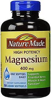 Nature Made High Potency Magnesium 莱萃美 高吸收镁矿组织胶囊 400mg 150粒软胶囊