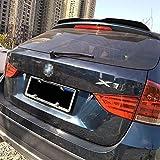 Alerón Trasero de Coche ABS Trasero Techo Maletero Spoiler para BMW X1 E84 2010-2015, Cola Lip Spoiler Techo ala AleróN Auto Accesorios Decorativos