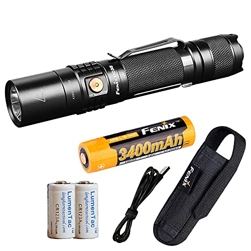 Best Rechargeable Flashlight: Fenix UC35 V2.0