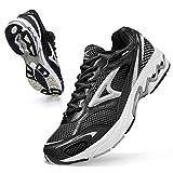 Zapatillas Running Hombre Sneakers Running Calzados para Correr en Asfalto para Hombre R Negro 45 EU