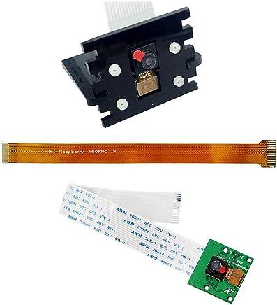 Jolicobo Kit Fotocamera per Raspberry Pi Zero Model A/B e Raspberry Pi 1, 2, B +, 3B con Cavo Adattatore per Zero/Zero W e Supporto per Fotocamera per Principianti - Trova i prezzi più bassi
