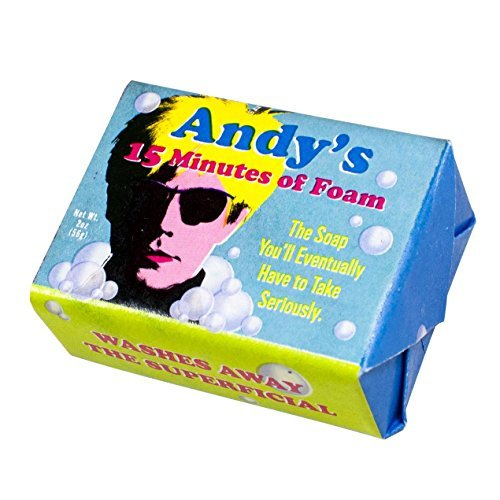 3 Pack - Andy Warhol 15 Minutes of Foam Soap - Made in The USA
