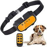 Citronella Dog Collar, Anti Dog Bark Collar, Spray Dog Bark Collar with Remote Rechargeable Humane Safe No Shock Anti Bark Collar Stop Barking Deterrent (No Spray)