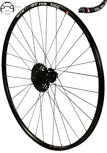 Redondo 26 Zoll Hinterrad Laufrad WTB Felge Disc Black + 9-Fach Shimano Kassette