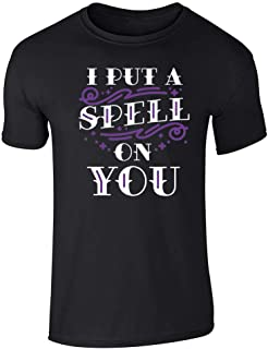 I Put A Spell On You Halloween Movie Quote Hex Short Sleeve T-Shirt
